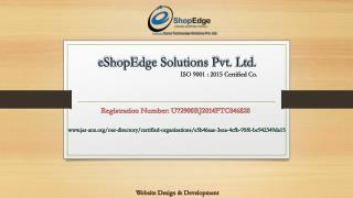 eShopEdge - Online Shopping Portal