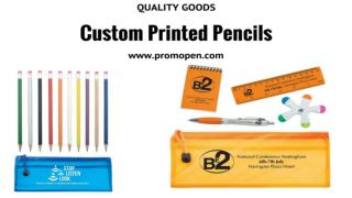 Cheap Custom Digital Printed Pencils & Pen by Promo Pen
