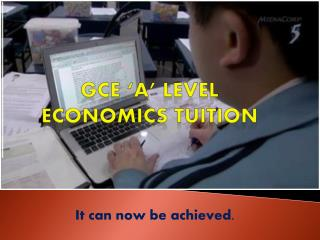 Economics Tuition