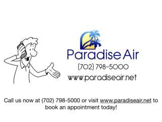 Paradise Air - AC Repair Experts in Las Vegas, NV