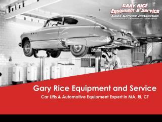 Gary Rice Equipment & Service, LLC.