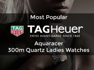 Most Popular TAG Heuer Aquaracer 300m Quartz Ladies Watches