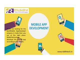 Riddhitech web design company