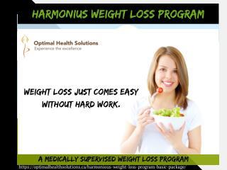 Harmonious weight loss program - basic package