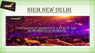 Enrollment in Best Event Management Institute - Niem