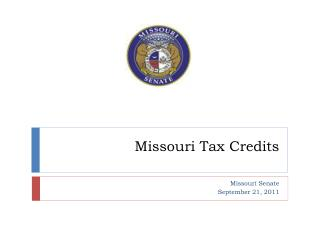 Missouri Tax Credits