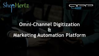 Banking Services Marketing Automation and Omni-channel Banking