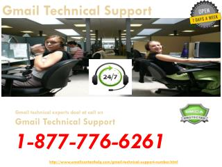 Looking For Instant Gmail Tech Support  @1-877-776-6261? Call Us