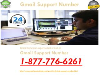 Come To Us to Avail Toll-Free @1-877-776-6261  Gmail Support
