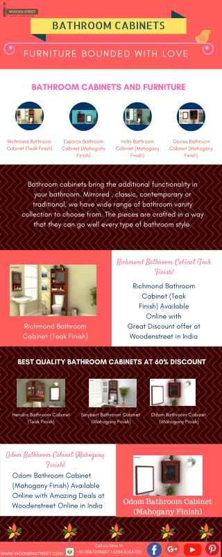 Bathroom Cabinets Online- bathroom shelves With 60%off