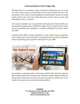 Real Estate Websites, Realtor Websites