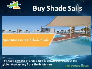 Buy Shade Sails