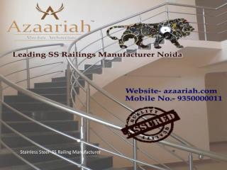 Stainless Steel- SS Railing Manufacturer Call 9350000011