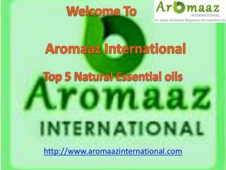 Buy online Top 5 Natural Essential Oils