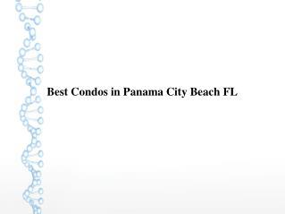 Best Condos in Panama City Beach FL