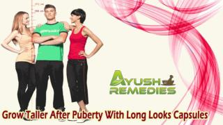 Grow Taller After Puberty With Long Looks Capsules