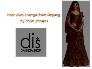 Bridal Indian Lehengas Inspiration for 2017 Bride