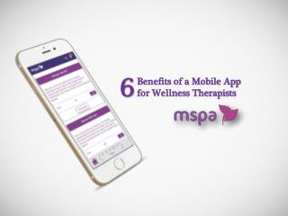 6 Benefits of a Mobile App for Wellness Therapists