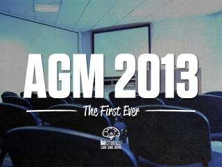 BA Champs PowerPoint AGM Presentation