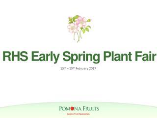 RHS Early Spring Plant Fair