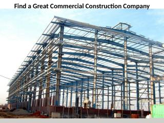 Commercial Construction Company | Stephen Rayment UK