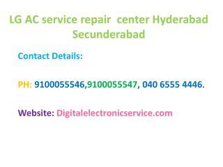 LG Ac Service Repair Center Hyderabad Secunderabad
