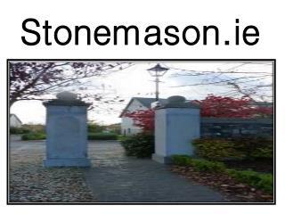 Stone Masonry Services in Ireland by Stonemason.ie