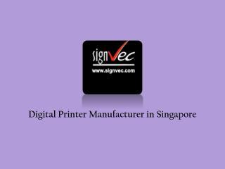 Direct Digital Printer