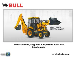 Tractor Attachment Manufacturers