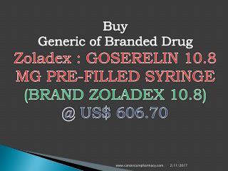 Buy Goserelin 10.8 Mg Pre-Filled Syringe (Brand Zoladex 10.8)
