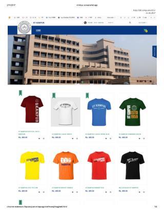Buy IIT Kanpur Customized Merchandise Online