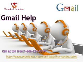 Get instant solution with Gmail Help:-1- 866-224- 8319 experts