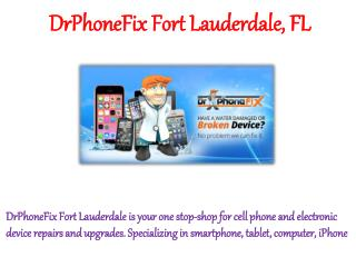 DrPhoneFix Fort Lauderdale FL