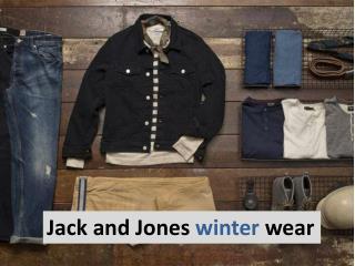 Jack and Jones winter wear