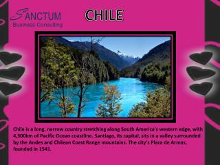 Looking for Chile Tourist visa - Contact Sanctum Consulting