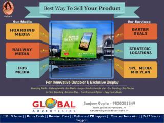 Outdoor Media Advertising For Airtel Mumbai