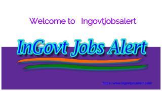 Latest Govt Jobs alert 2017-2018