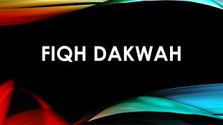 dakwah