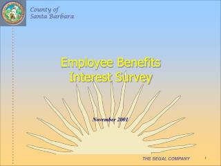 Employee Benefits Interest Survey