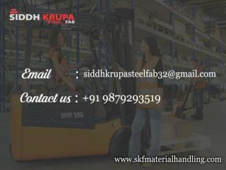 Drum Handling Equipment Manufacturers, Hydraulic Lifting Stacker