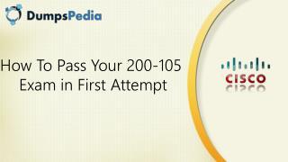 200-105 Braindumps