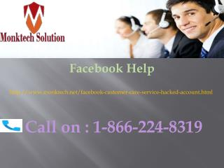 Facebook Help Can Be Your One-Stop Destination 1-866-224-8319