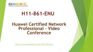 ExamGood Huawei HCNP-VC H11-861-ENU Exam Questions