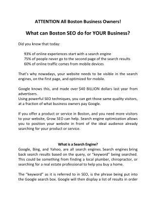 Grow SEO Boston