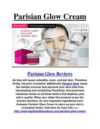 Parisian Glow Cream