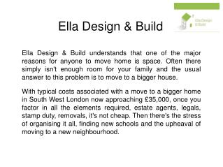 Ella Design & Build