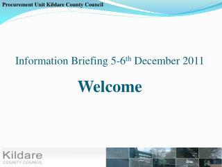 Procurement Unit Kildare County Council