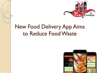 How to reduce food waste with using food app?