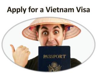 Apply for a vietnam visa