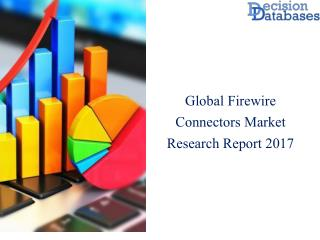 Global Firewire Connectors Market Analysis By Applications 2017